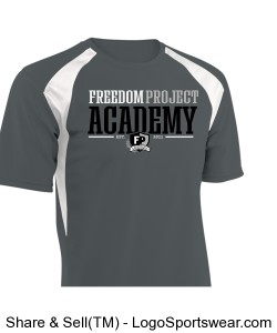 FPA MENS SPORT TEE GRAY Design Zoom