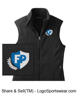 FPA WOMEN'S FLEECE VEST Design Zoom