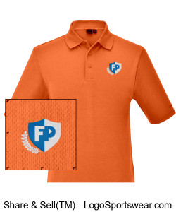FPA MEN'S POLO Design Zoom
